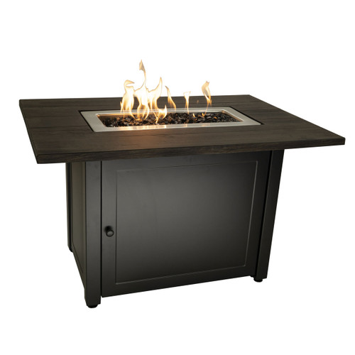 The Marc - 40 x 28 Rectangular Gas Outdoor Fire Pit