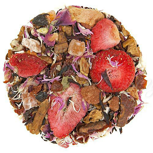 Be Mine Chocolate Strawberry Herbal Tea - Loose Leaf