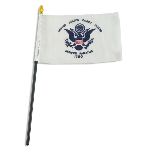 Coast Guard flag 4 x 6 inch