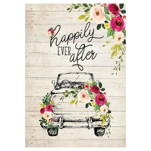 Happily Ever After Garden Flag