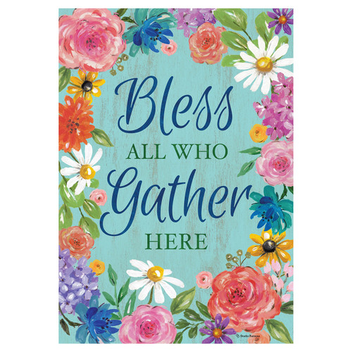 Bless and Gather Garden Flag