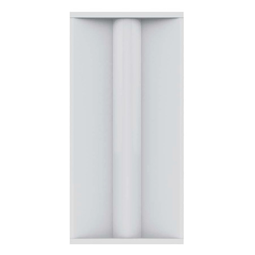Case of 2 - LED 2ft x 4ft Color & Wattage Tunable Troffer - 35/40/45/50W