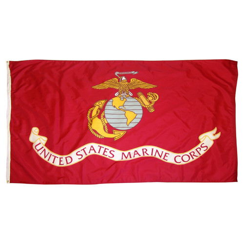 Marine Corps Flag 4x6ft Nylon