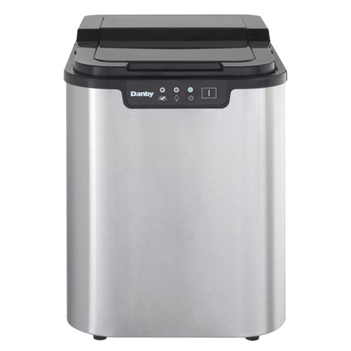 Danby Portable Ice Maker - LED Display - Stainless