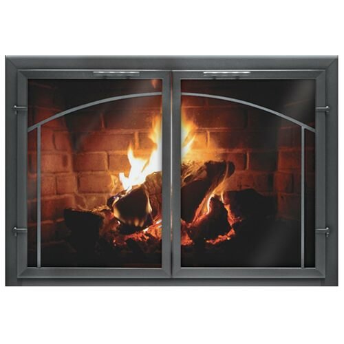 Normandy Deluxe Custom Masonry Fireplace Door