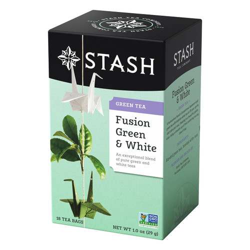 Stash Fusion Green & White Tea - 18 count