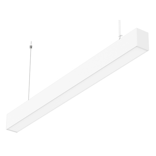 LED 4ft. Linear Light - 40 Watt - 3905 Lumens -White Lamp Body - LumeGen