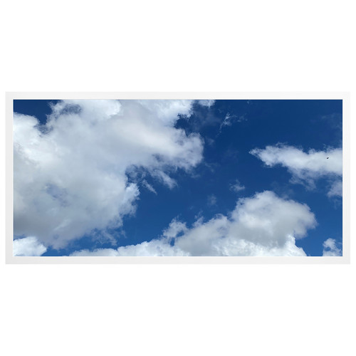 2ft x 4ft LED Flat Panel - 49W - Cloud Design - A3