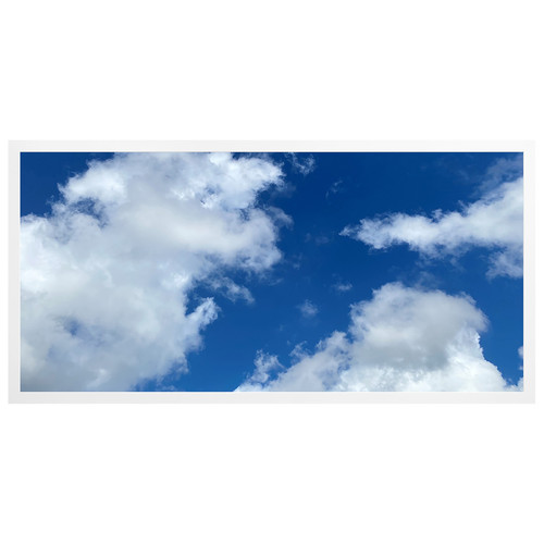 2ft x 4ft LED Flat Panel - 49W - Cloud Design - B1