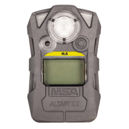 MSA Altair 2X Single-Gas Detector, Low Conc. Hydrogen Sulfide (H2S-LC)
