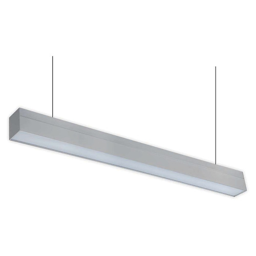 LED 4ft. Up/Down Suspended Linear Light - 50 Watt - Color Tunable