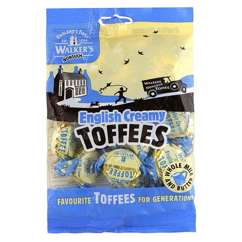 Walkers Nonsuch English Creamy Toffee - 150g