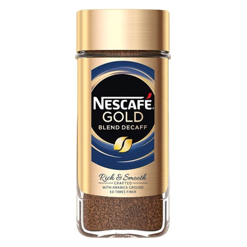 Nescafe Gold Blend Decaf Instant Coffee - 100g