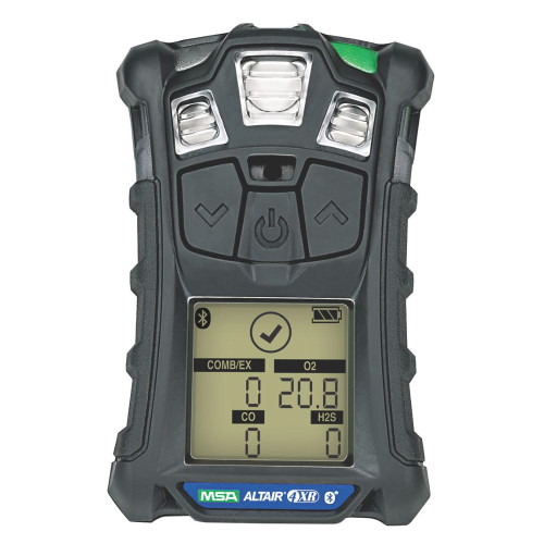 MSA ALTAIR 4XR Multigas Detector, (LEL, O2, H2S & CO), Global Charger
