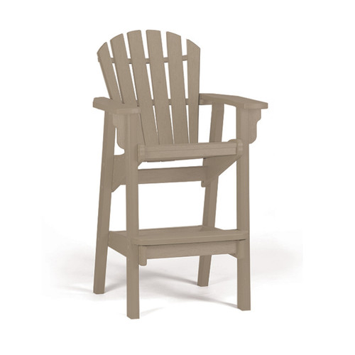 Breezesta Poly Lumber Coastal Bar Chair