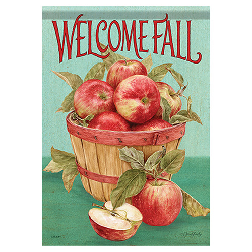 Carson Fall Garden Flag - The Apple Harvest