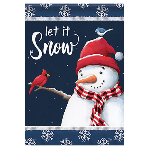 Carson Winter Banner Flag - Cold Weather Friends