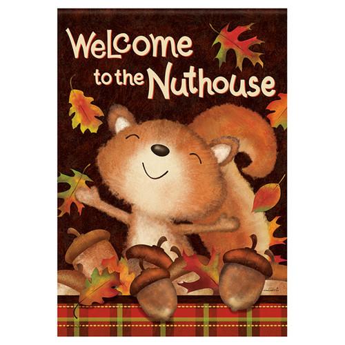 Carson Fall Banner Flag - Fall Nuthouse