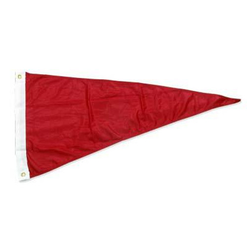 Gale warning pennant 18in x 36in Super Knit Polyester