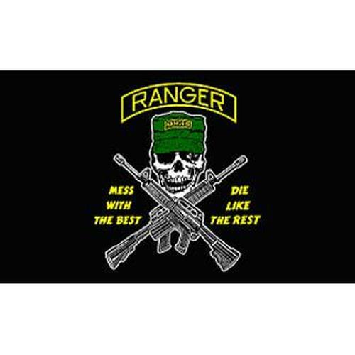 Ranger 3ft x 5ft Printed Polyester Flag