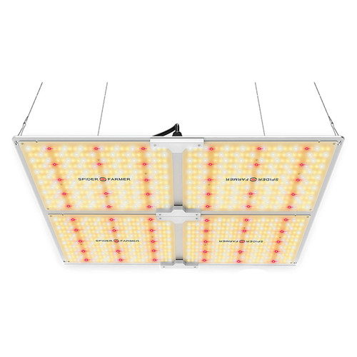 LED Full Spectrum Indoor Grow Light - 450W - Spider Farmer