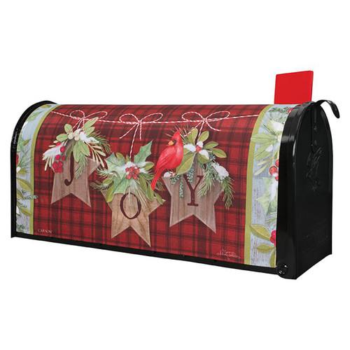 Christmas Mailbox Cover - Joy Stars