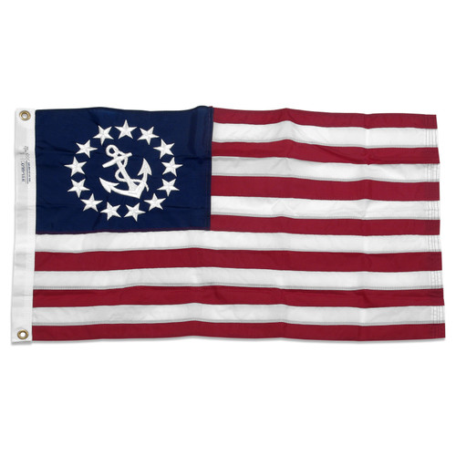 "Nylon U.S. Yacht Design 20"" x 30"" Flag"