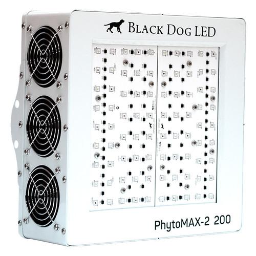 LED PhytoMAX-2 200 Full Spectrum Indoor Grow Light - 200W - Black Dog LED
