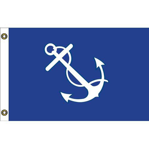 US YACHT PORT CAPTAIN 12in x 18in Flag