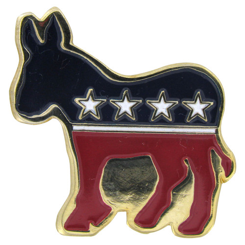 Democrat Lapel Pin