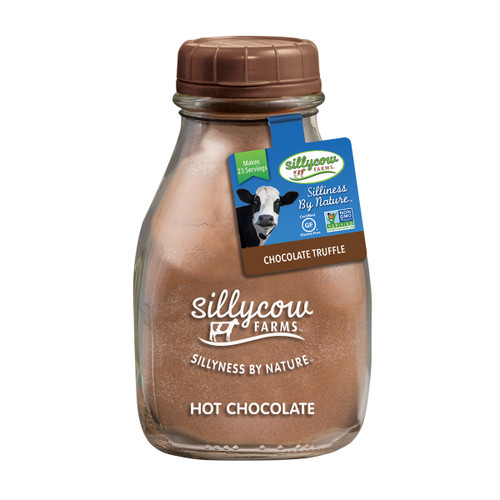 Sillycow Hot Cocoa - Chocolate Truffle - 16.9 oz