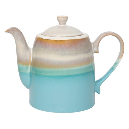 Horizon Reactive Glaze Teapot