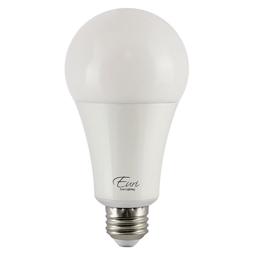 LED A21 High Output - 22 Watt - 150W Equiv. - Dimmable - 2550 Lumens - Euri Lighting