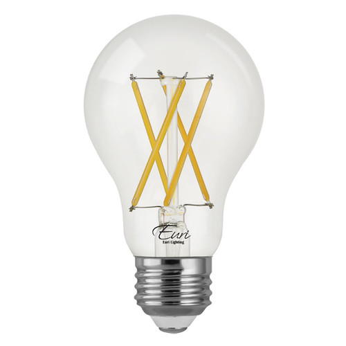LED A19 Filament - 8.5 Watt - 60W Equiv. - Dimmable - 800 Lumens - Euri Lighting