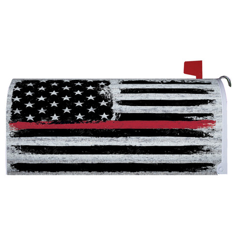 Magnetic Mailbox Cover - Firefighter Tribute