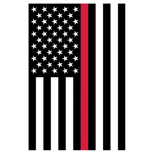 Banner Flag - Thin Red Line