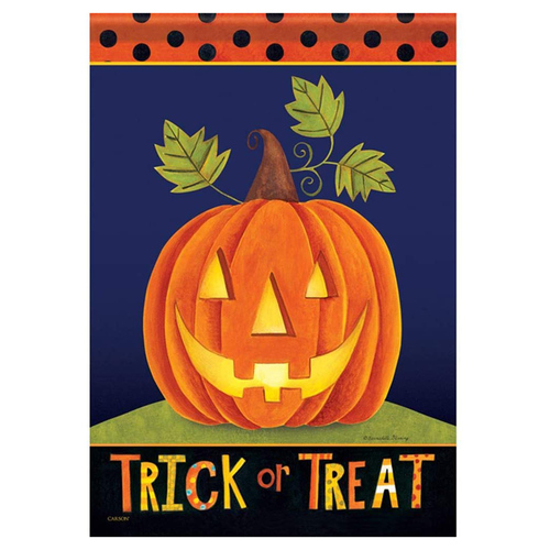 Carson Halloween Banner Flag - Trick or Treat Jack