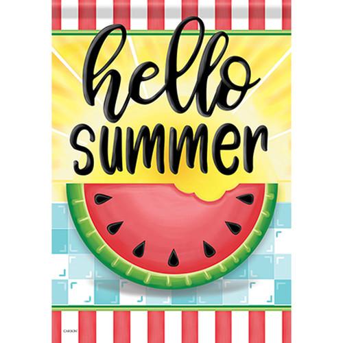 Carson Summer Garden Flag - Hello Sweet Summer