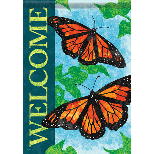 Carson Summer Banner Flag - Radiant Monarchs