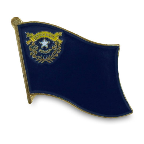Nevada Flag Lapel PIn