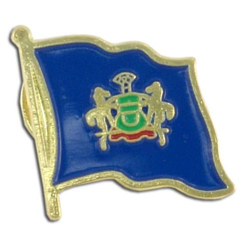 Pennsylvania Flag Lapel Pin