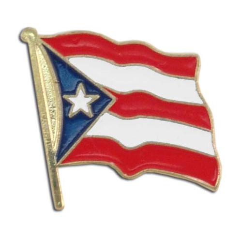 Puerto Rico Flag Lapel Pin