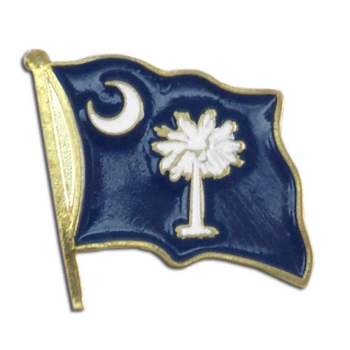 South Carolina Flag Lapel Pin