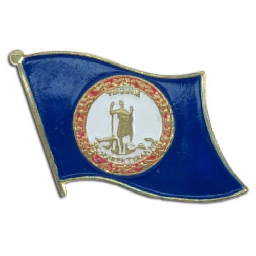 Virginia Flag Lapel Pin