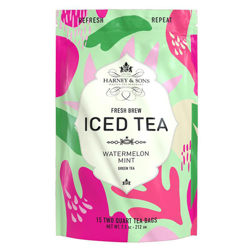 Harney and Sons Iced Tea - Watermelon Mint - 15 Count