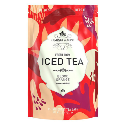 Harney and Sons Iced Tea - Blood Orange - 15 Count