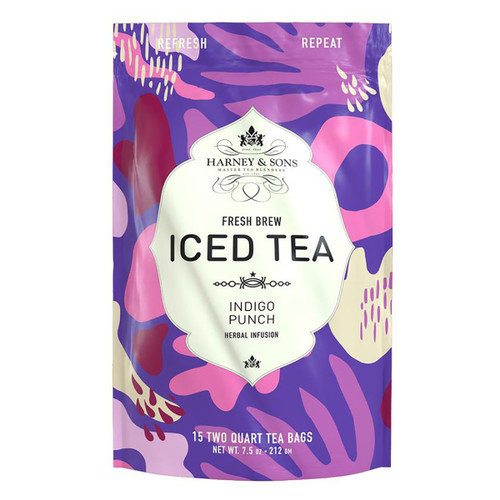 Harney and Sons Iced Tea - Indigo Punch - 15 Count