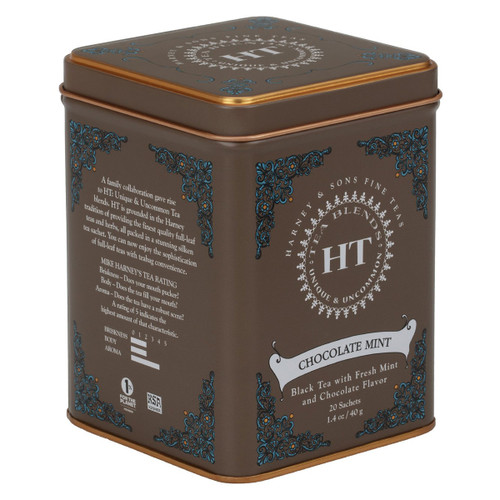 Harney and Sons Tea - Chocolate Mint - 20 count