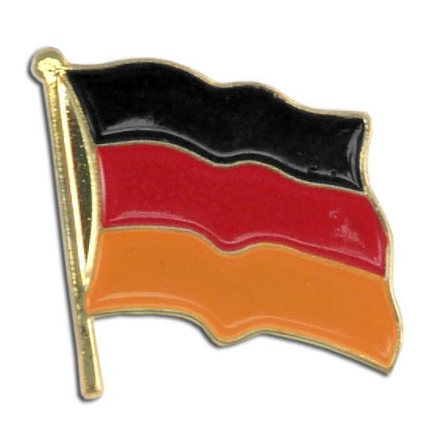 Germany Flag Lapel Pin - Single