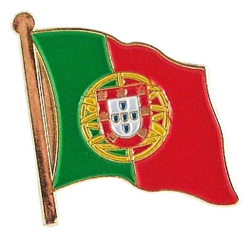 Portugal Lapel Pin